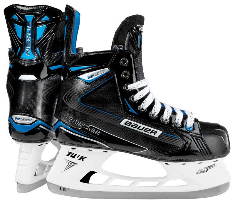Hokejové brusle - senior Nexus N2900 S18, Bauer - velikost 45 EU a šířka D