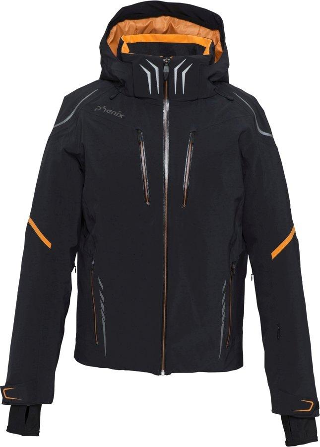 Černá pánská lyžařská bunda Phenix - velikost M