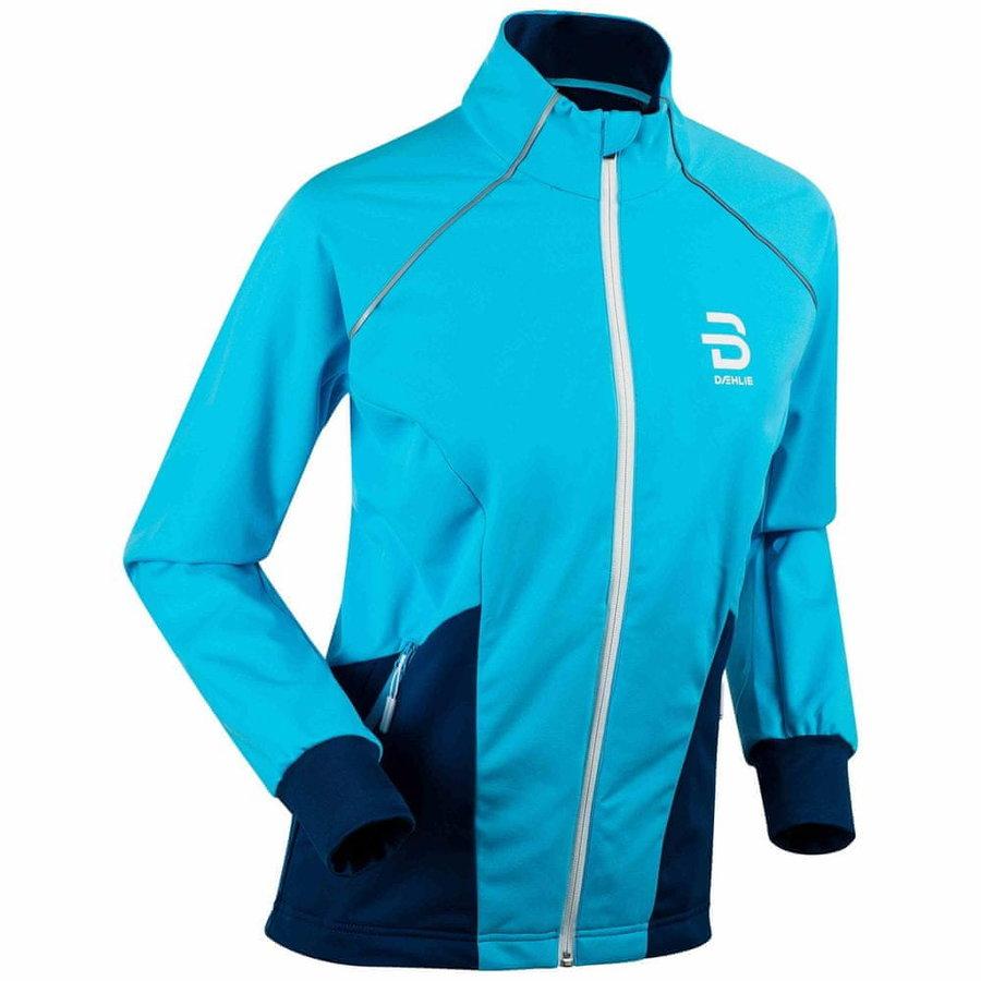 Modrá dámská bunda na běžky Bjorn Daehlie