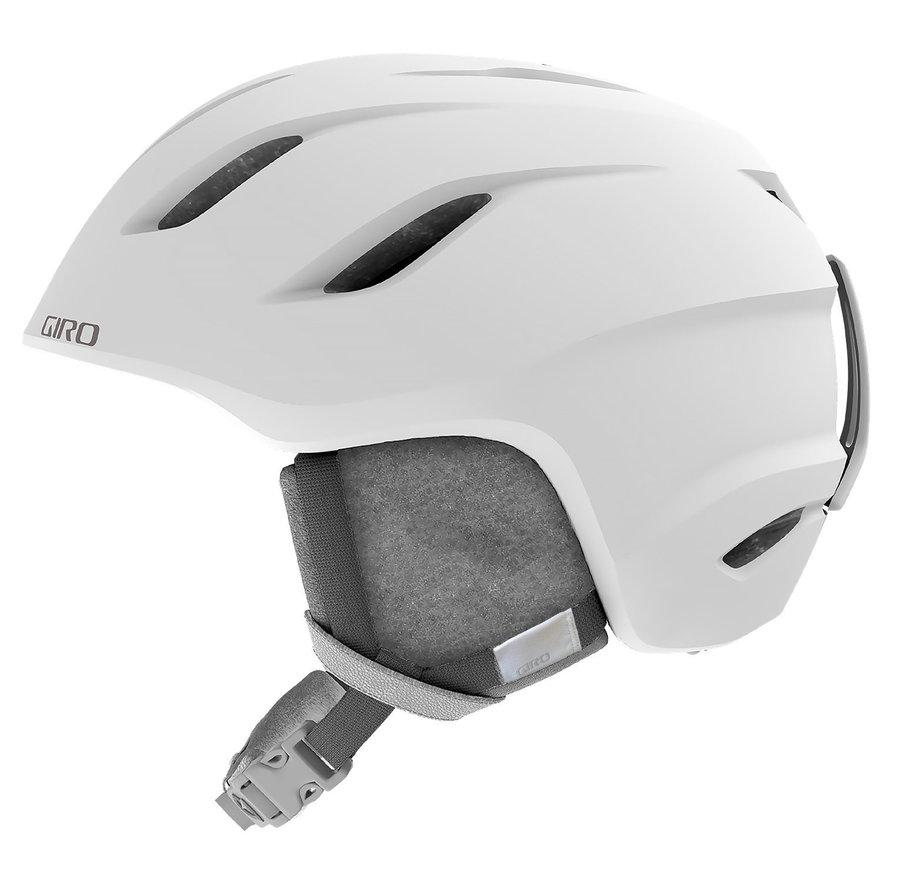 Bílá dámská lyžařská helma Giro