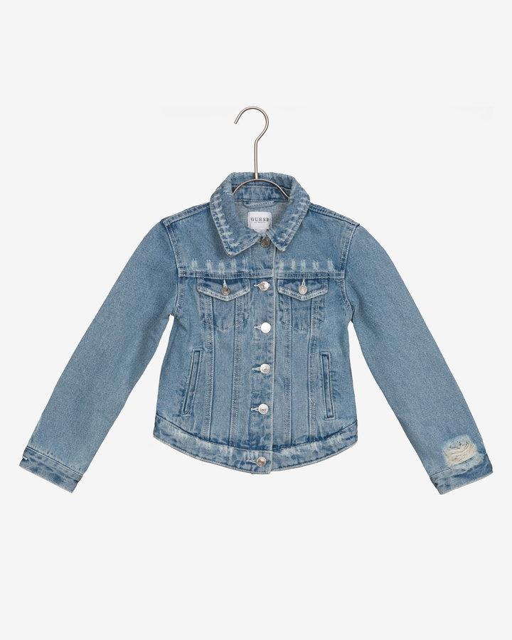 Modrá dívčí bunda Guess - velikost 122