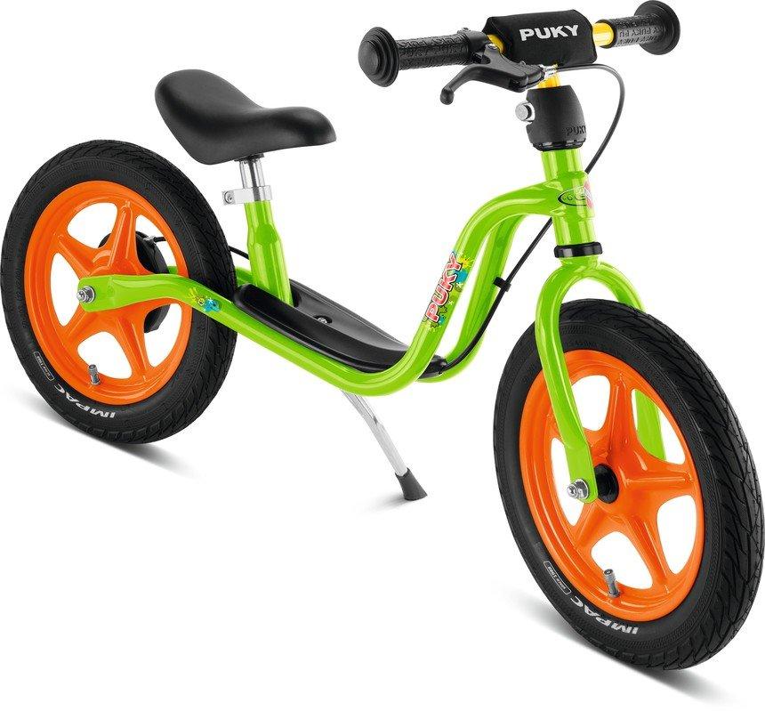 Oranžovo-zelené dětské odrážedlo PUKY