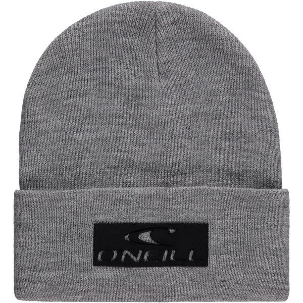 Šedá pánská zimní čepice O'Neill - univerzální velikost