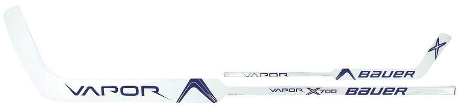 """Brankářská hokejka - Brankářská hůl Bauer VAPOR X700 Composite Junior NAVY Provedení: levá 21"""" (53 cm)"""