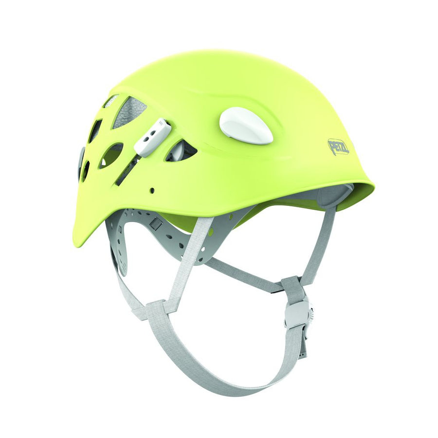 Zelená dámská horolezecká helma Petzl - velikost 50-58 cm