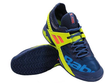 Modrá pánská tenisová obuv Propulse Rage Clay, Babolat - velikost 40,5 EU