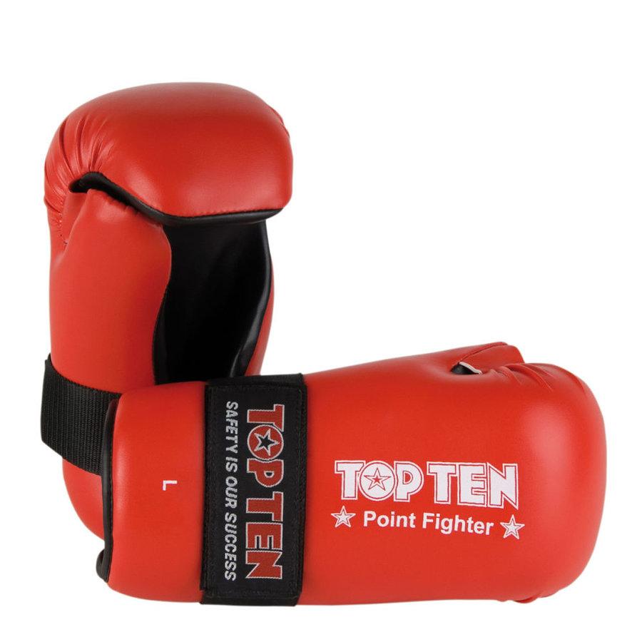 Červená karate rukavice Top Ten