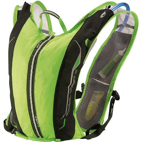 Černo-zelený batoh Trail Vest 5, Camp - objem 5 l
