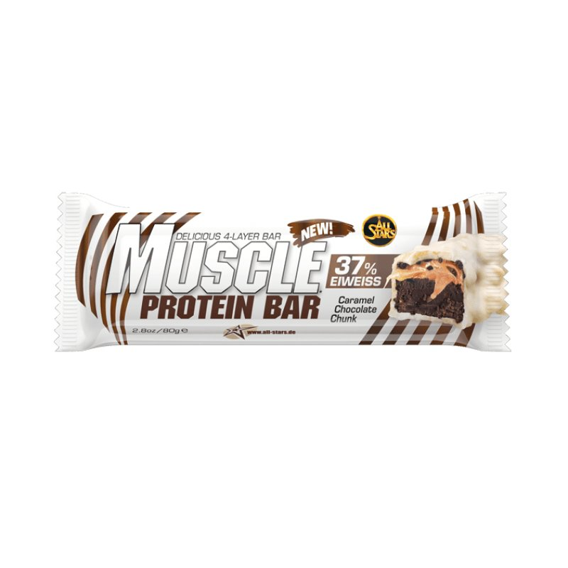 Proteinová tyčinka - Proteinová tyčinka Muscle Protein Bar 80 g - All Stars