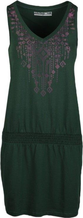 Zelené dámské šaty Sam 73 - velikost XS