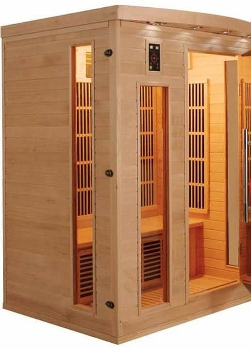 Infrasauna pro 3 osoby Apollon 3, France Sauna
