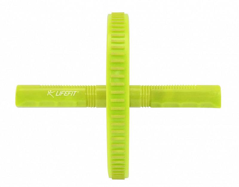 Posilovací kolečko - Posilovací kolečko LIFEFIT EXERCISE WHEEL SINGLE