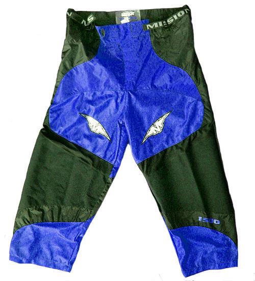 Černé kalhoty na in-line hokej (senior) Helium H1500, Mission - velikost XL
