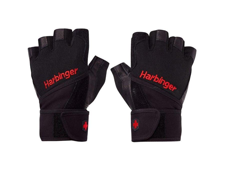 Černé pánské fitness rukavice Harbinger