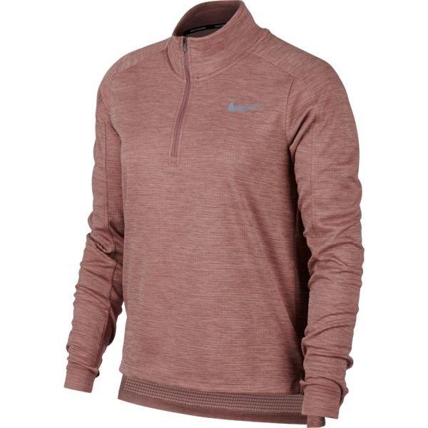 Červené dámské běžecké tričko Nike