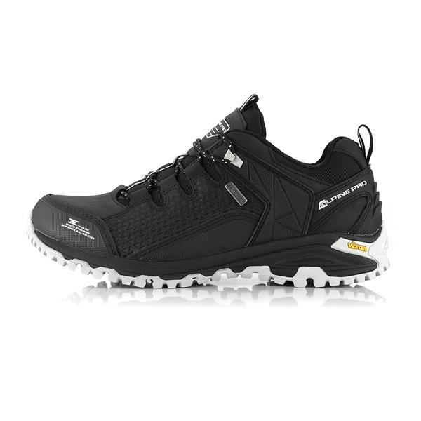 Černé nepromokavé trekové boty Alpine Pro