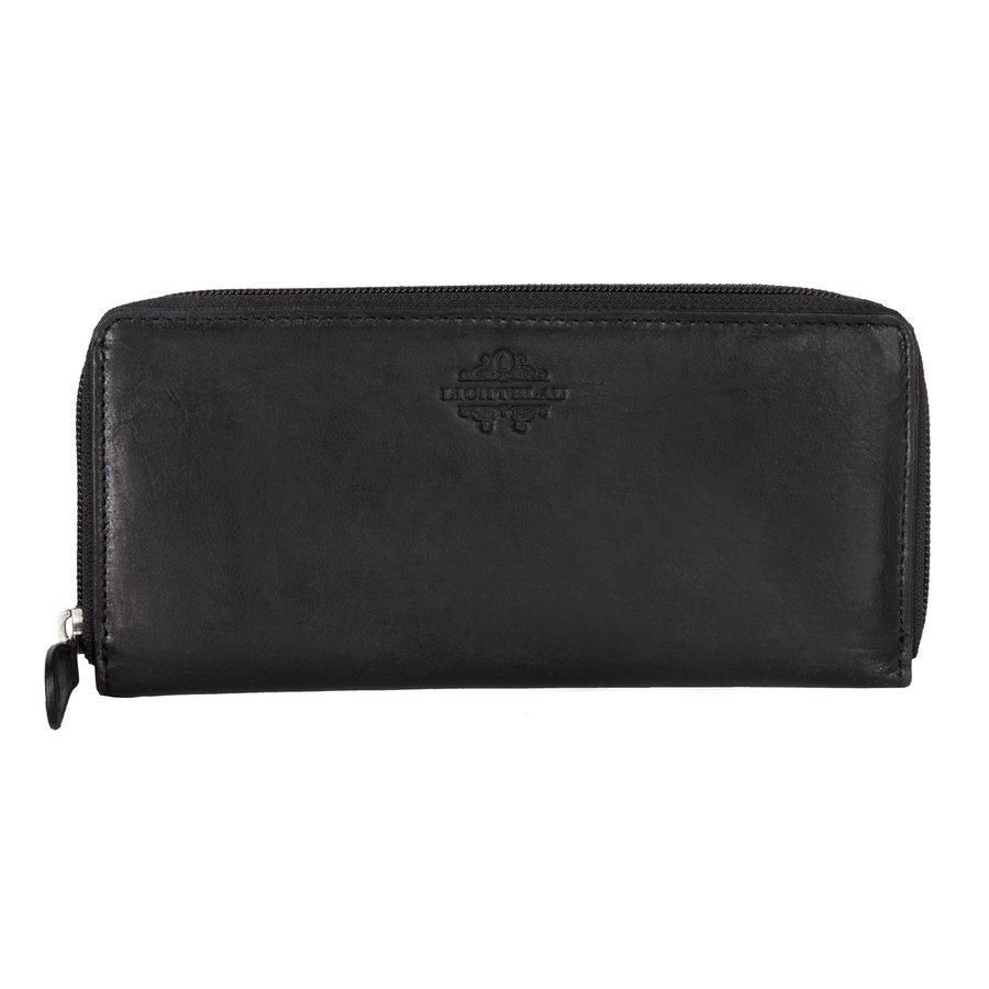 Peněženka - Travelite Lichtblau Wallet Black