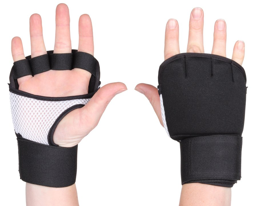 Černé boxerské rukavice Merco