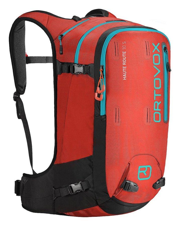 Červený skialpový batoh Ortovox - objem 30 l