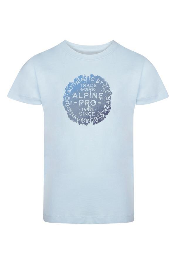 Modré dětské tričko s krátkým rukávem Alpine Pro - velikost 164-170