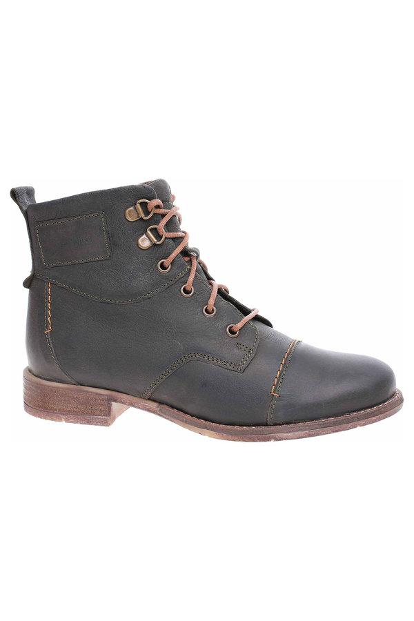 Kotníkové boty - Dámská kotníková obuv Josef Seibel 99617 MI720630 oliv 99617 MI720 630 39