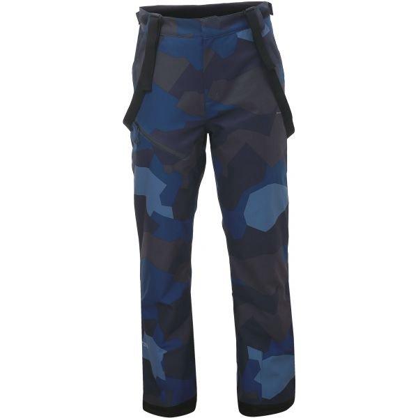 Modro-šedé pánské lyžařské kalhoty 2117 of Sweden