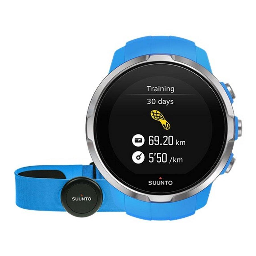 Modré digitální sportovní chytré hodinky Spartan Sport Blue HR, Spartan