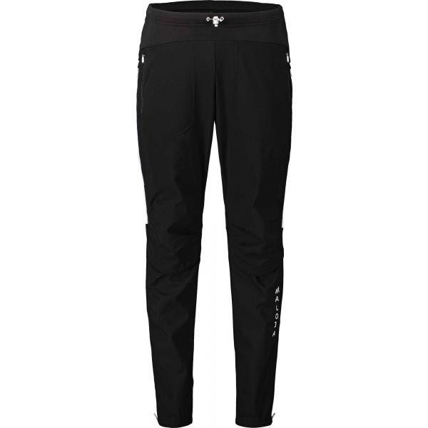 Černé pánské kalhoty na běžky Maloja - velikost XL