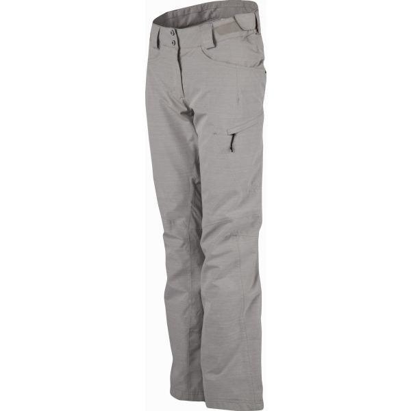 Šedé dámské lyžařské kalhoty Salomon