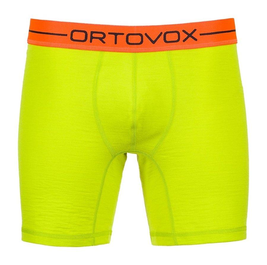 Zelené pánské boxerky Ortovox - velikost XXL