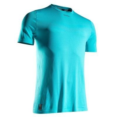 Tyrkysové pánské tenisové tričko Artengo - velikost XL