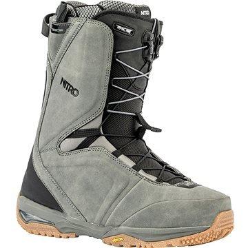 Šedé pánské boty na snowboard Nitro - velikost 43 1/3 EU