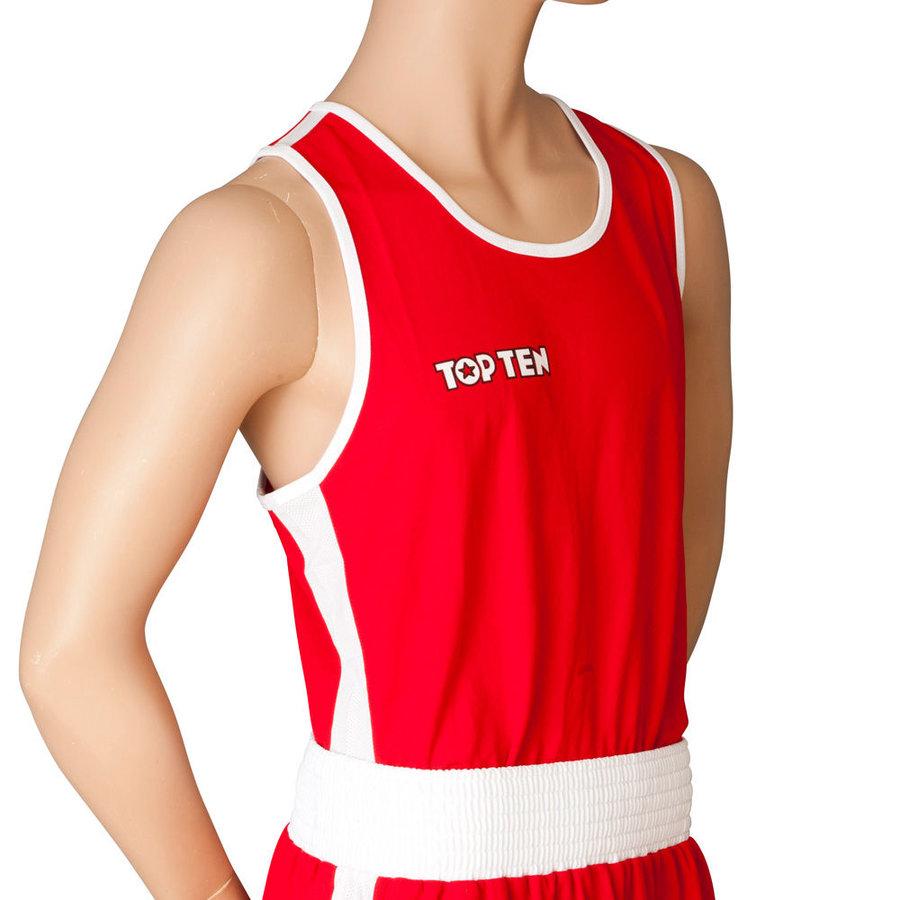 Červené boxerské tílko AIBA, Top Ten
