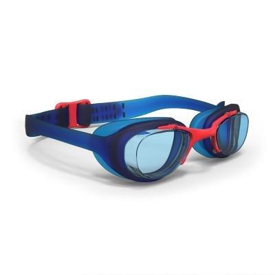 Červeno-modré plavecké brýle XBASE, Nabaiji