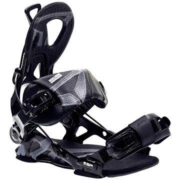 Černé vázání na snowboard SP Bindings
