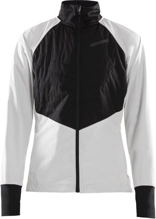 Bílo-černá dámská bunda na běžky Craft