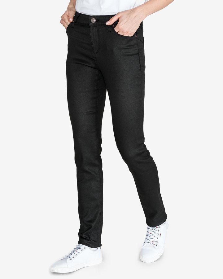 Černé dámské džíny Armani Exchange