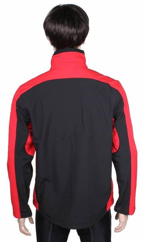 Černo-šedá softshellová pánská bunda Lambeste - velikost M