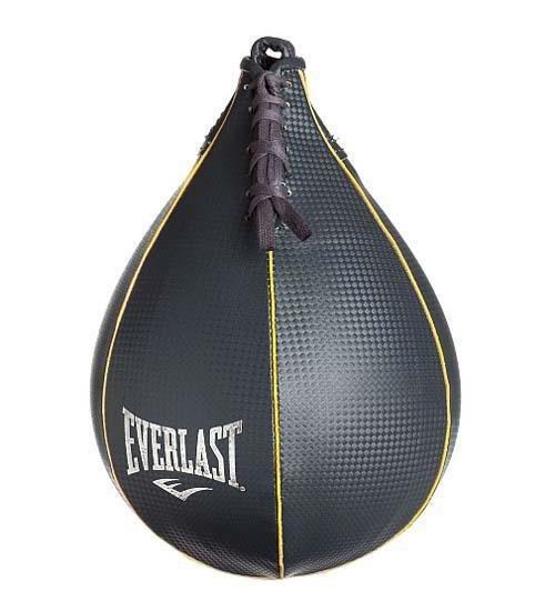 Černá závěsná boxovací hruška Spartan - 7 kg
