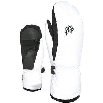 Bílé dámské lyžařské rukavice Level - velikost S-M