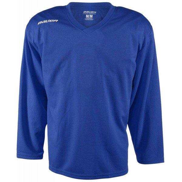 Modrý tréninkový dětský hokejový dres Bauer