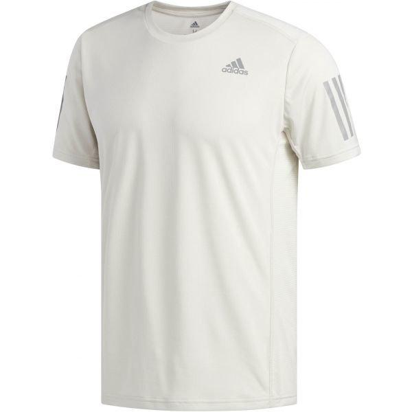 Bílé pánské běžecké tričko Adidas