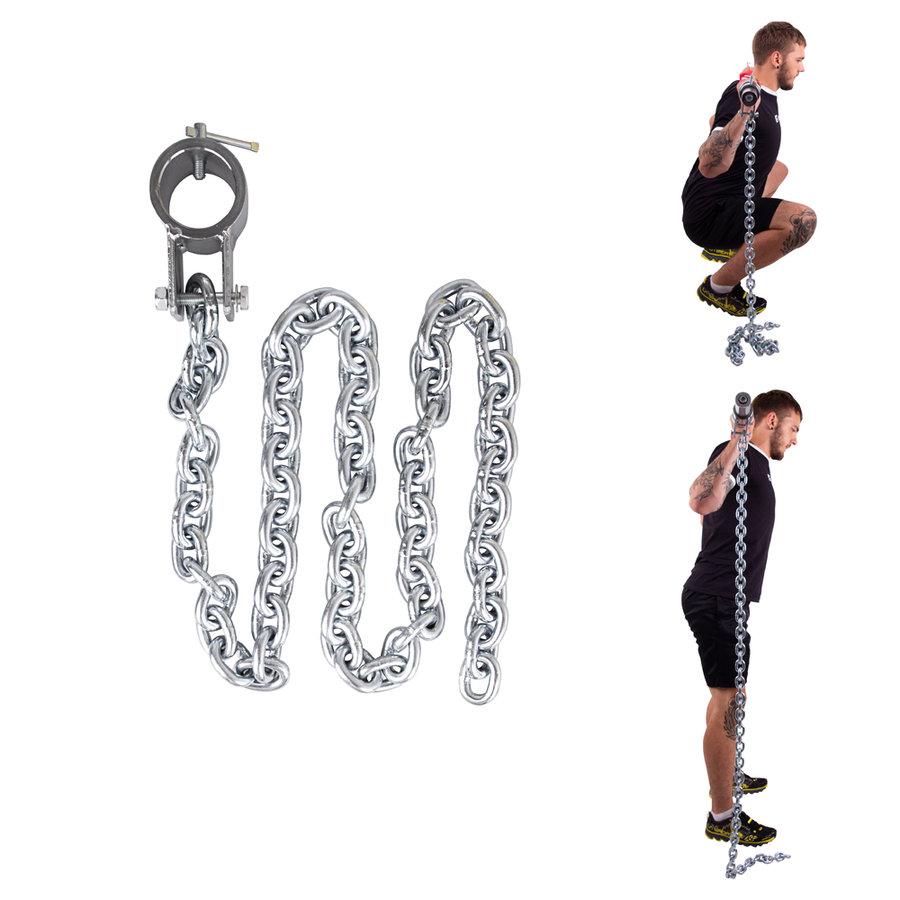 Vzpěračský řetěz inSPORTline - 5 kg