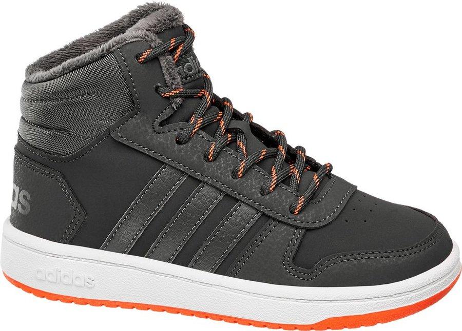 Šedé dětské tenisky Adidas - velikost 29 EU