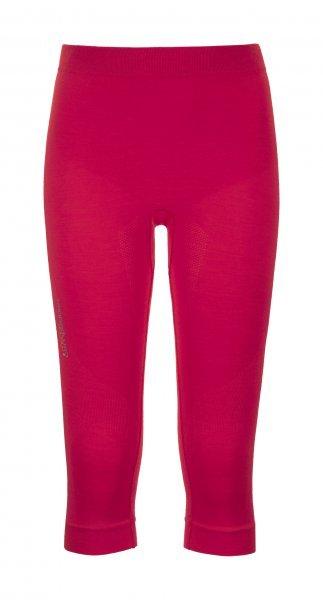 Růžové 3/4 dámské termo kalhoty Ortovox