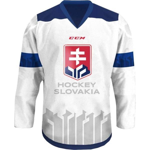 Bílý hokejový dres CCM