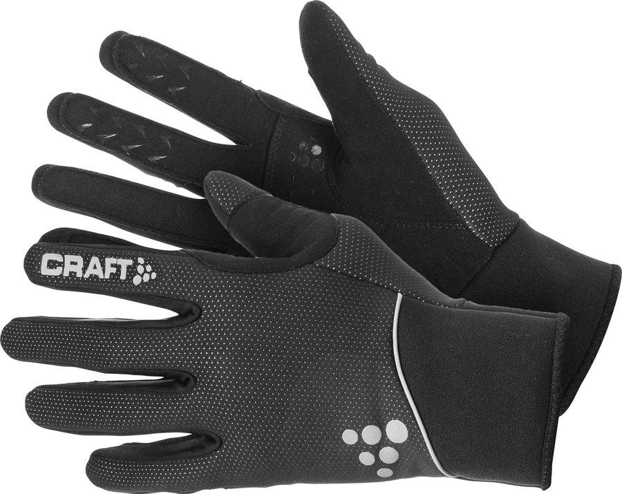 Černé rukavice na běžky Craft - velikost L