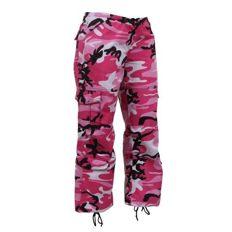 Kalhoty - Kalhoty dámské PARATROOPER PINK CAMO
