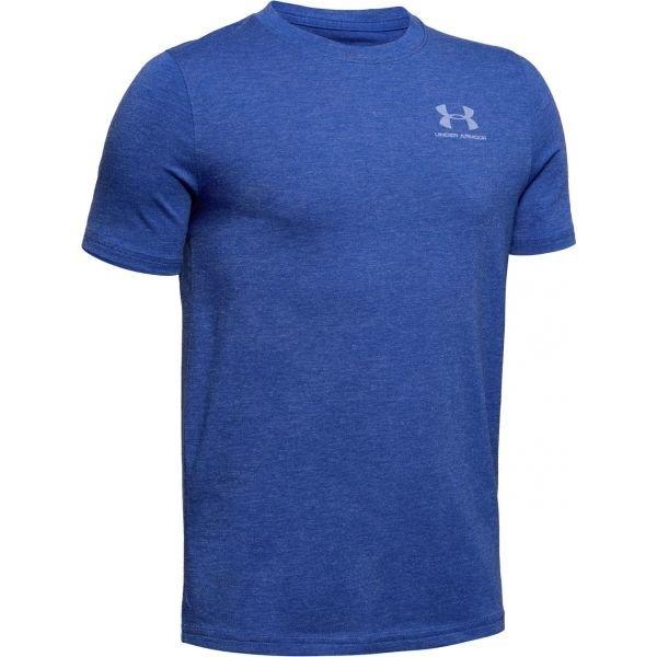 Modré chlapecké tričko s krátkým rukávem Under Armour