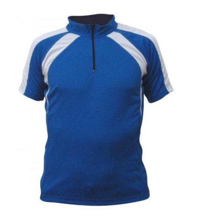 Modrý pánský nebo dámský cyklistický dres Merco